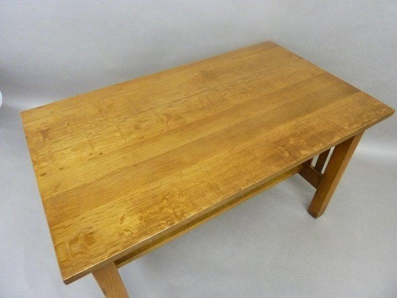 Circa 1915 American Solid 1/4 cut Oak Arts and Crafts - 3