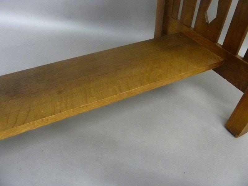 Circa 1915 American Solid 1/4 cut Oak Arts and Crafts - 5