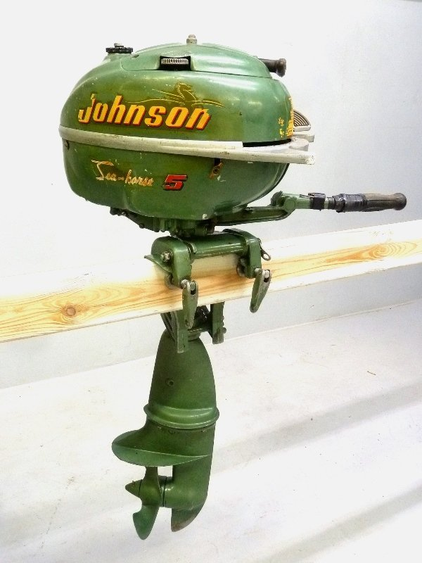 1950 or 1951 Johnson 5 HP Sea Horse Outboard Motor -