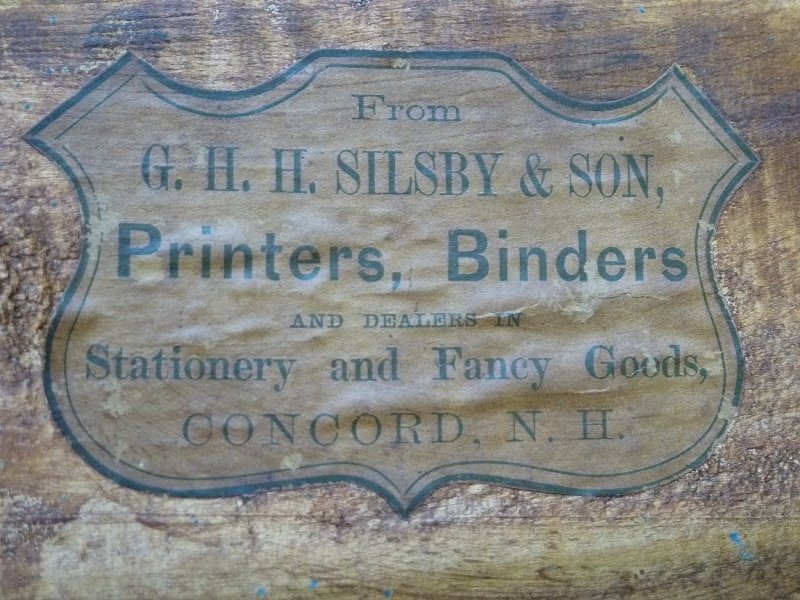 C 1880's Stenciled Doll Buggy signed G.H. Silsby & Son - 5