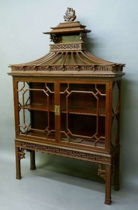 Early 20th Century Chinese Mahogany Design Display - 2