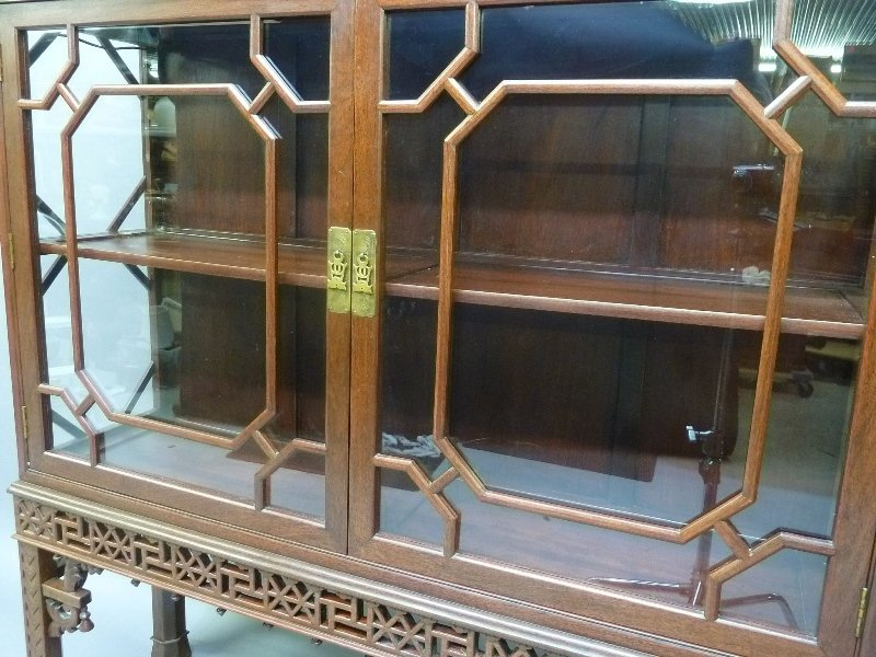 Early 20th Century Chinese Mahogany Design Display - 5
