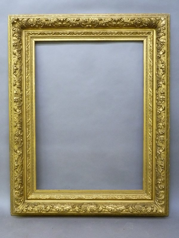 19th Century Massive Gilded Antique Frame - height