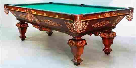 Circa 1870's Brunswick Balke Collender Rosewood and