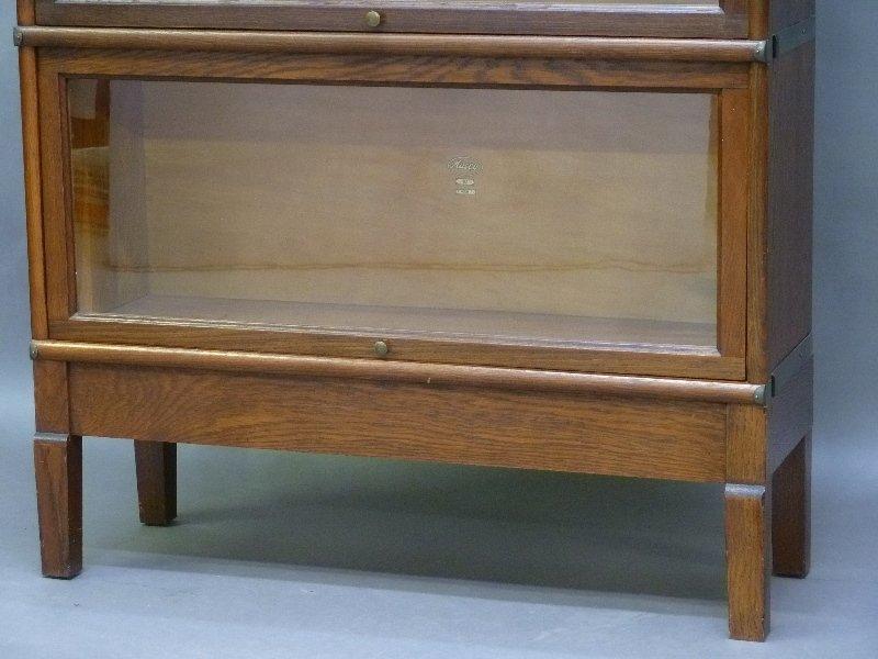 Signed (Macy) 1/4 Cut Oak 5 High Stacking Bookcase in - 3