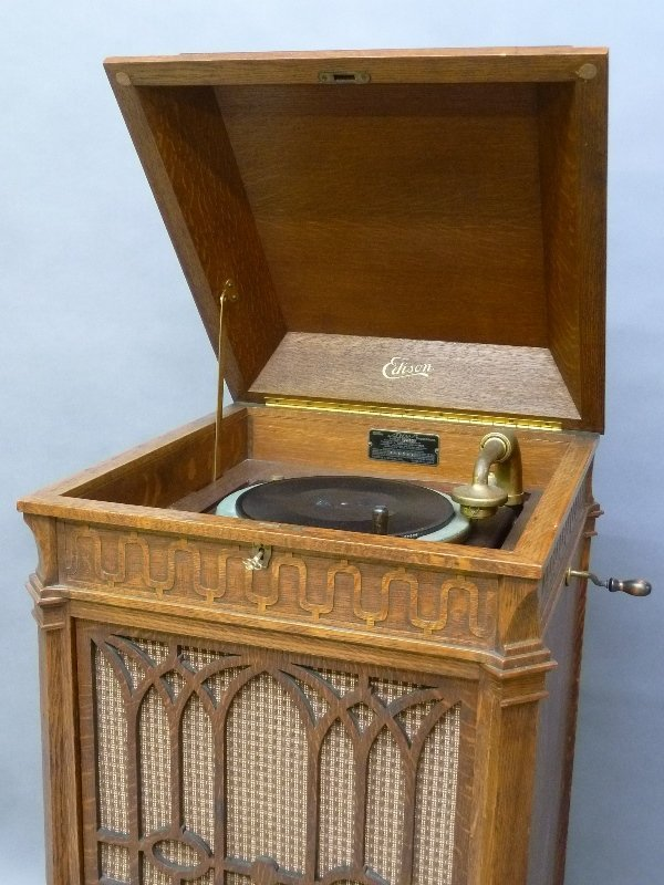 Signed Edison Model C250 Disk Phonograph dated - 3