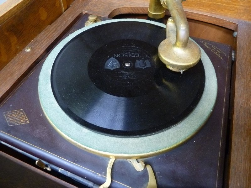 Signed Edison Model C250 Disk Phonograph dated - 5