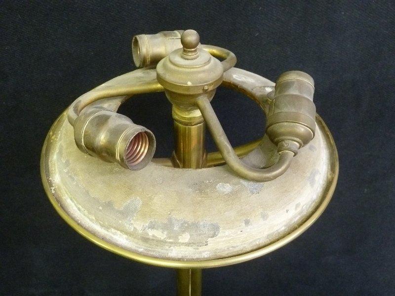 Period Circa 1840's Astral Lamp with Original Oil Tank - 4