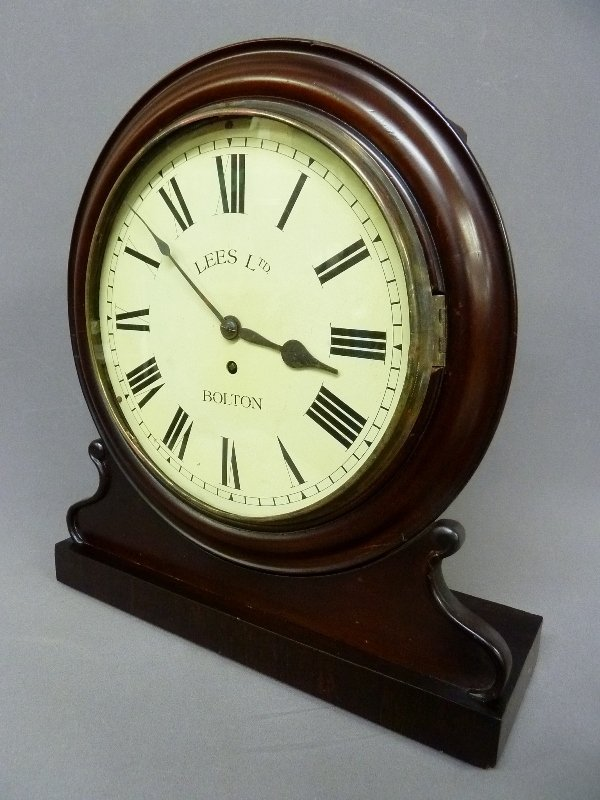 Circa 1850's English Fusee Shelf Clock signed Made in - 2