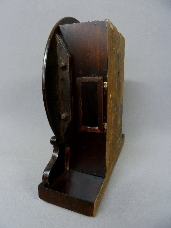Circa 1850's English Fusee Shelf Clock signed Made in - 3