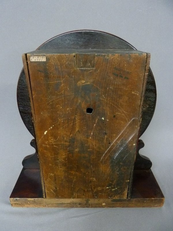 Circa 1850's English Fusee Shelf Clock signed Made in - 4