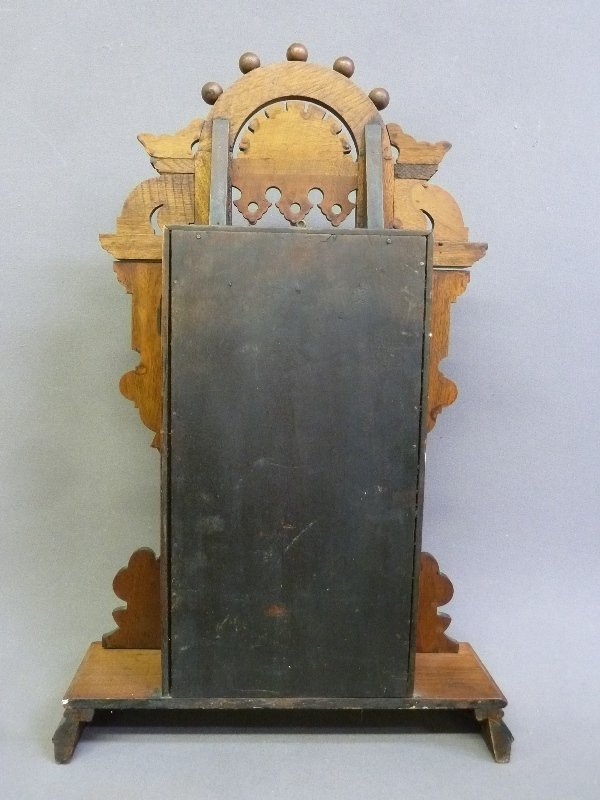 Circa 1880 Signed Seth Thomas Walnut Shelf Clock marked - 3