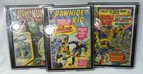 3 Comic Books
