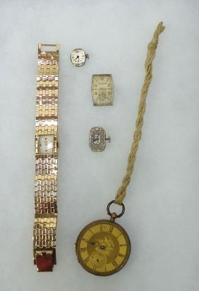 3 Watch Mechanisms & Wristwatch