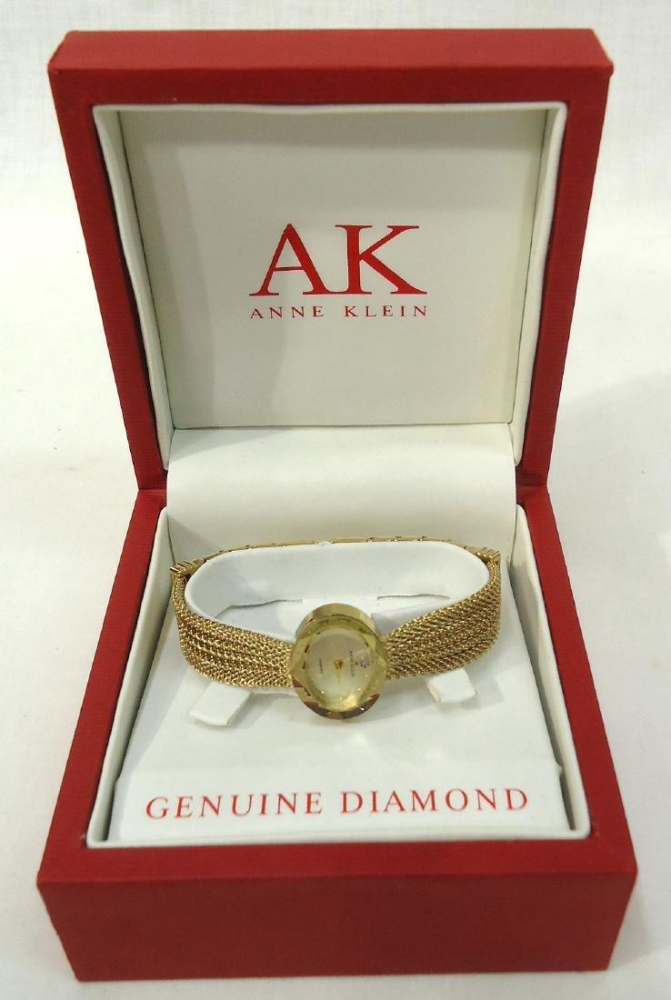 Anne Klein Wristwatch w/ Diamond