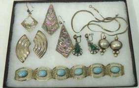 Lot of Mexican Sterling Jewelry