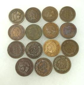 15 Indian Head Cents