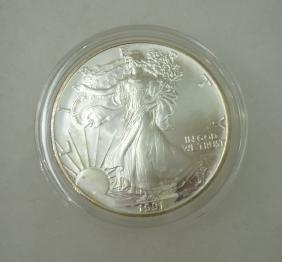 1991 Silver Eagle