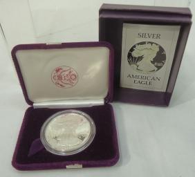 1986 Silver Eagle