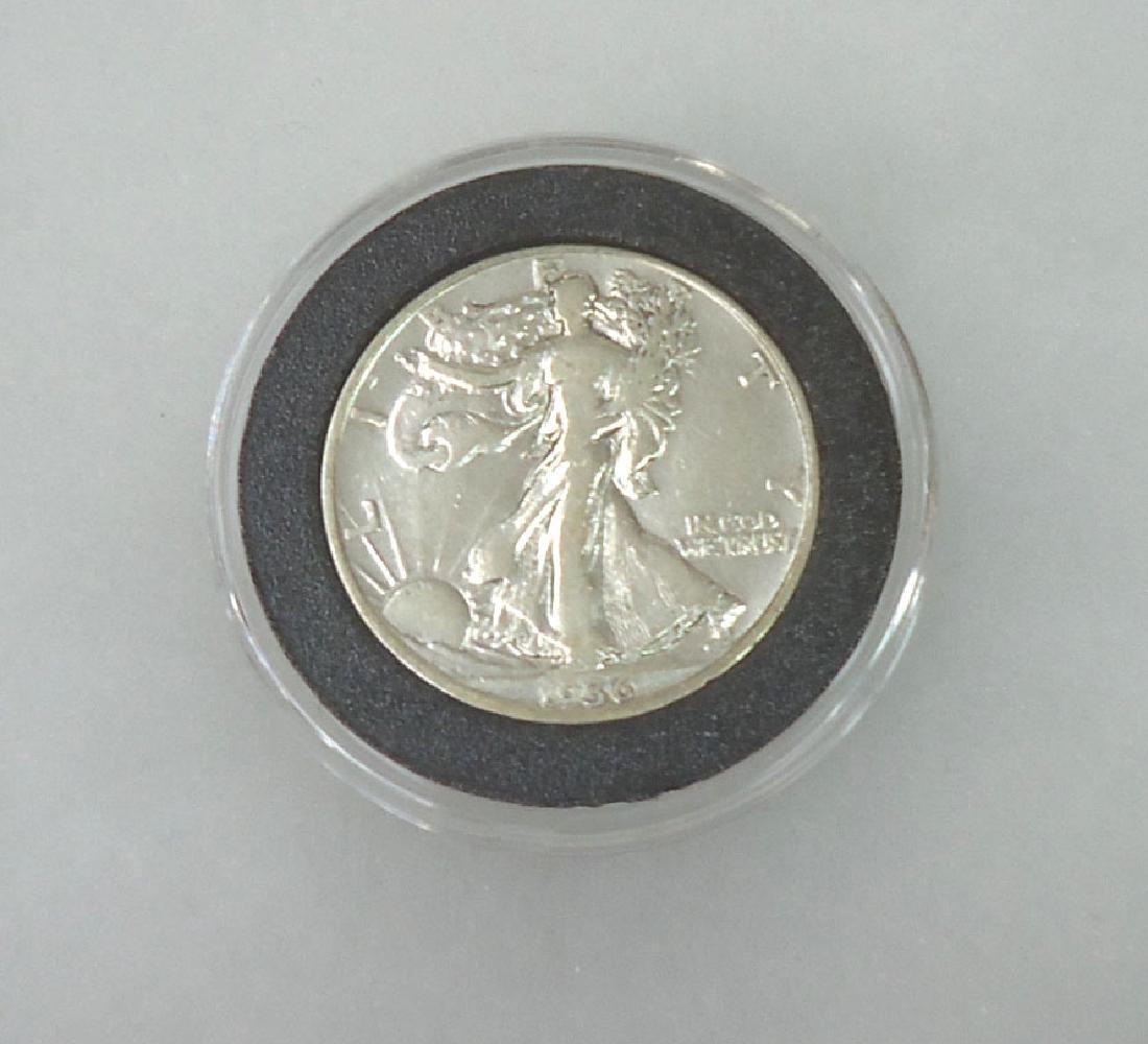 1936 Walking Half Dollar