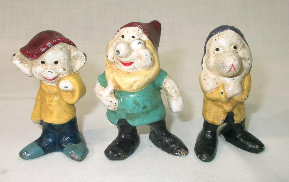 Modern C.I. Snow White & 7 Dwarfs Figures - 3