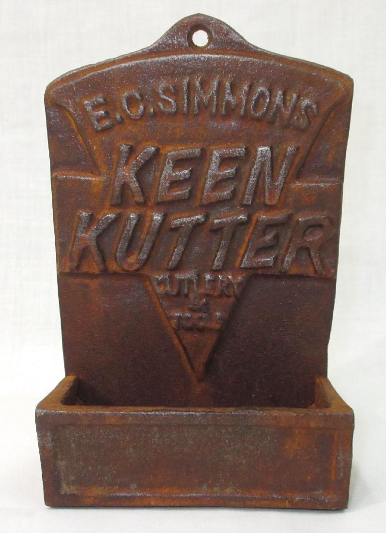 Modern C.I. Keen Kutter Wall Match Box