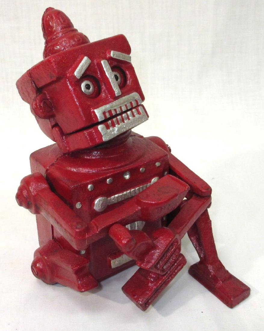 Modern C.I. Robot Mechanical Bank