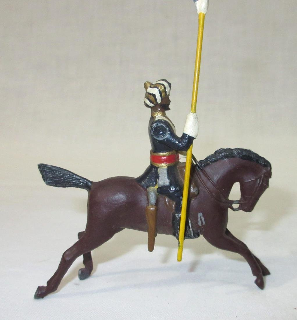 2 Lead Soldiers on Horseback - 2