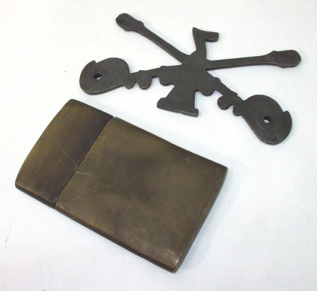 Modern Winchester Map Case & 7th Cav. Device - 3