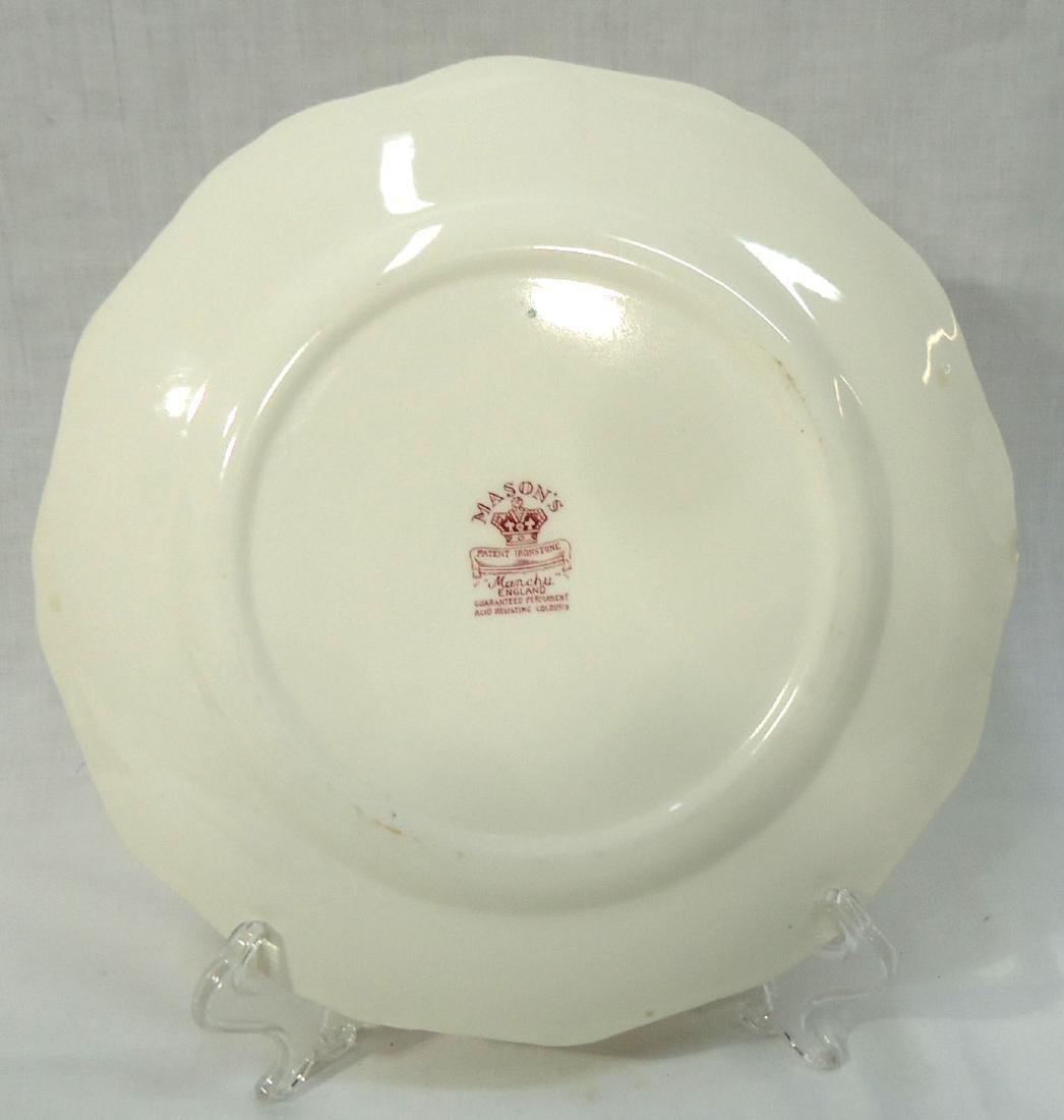 """12 Mason's """"Manchu"""" Dishes - 3"""