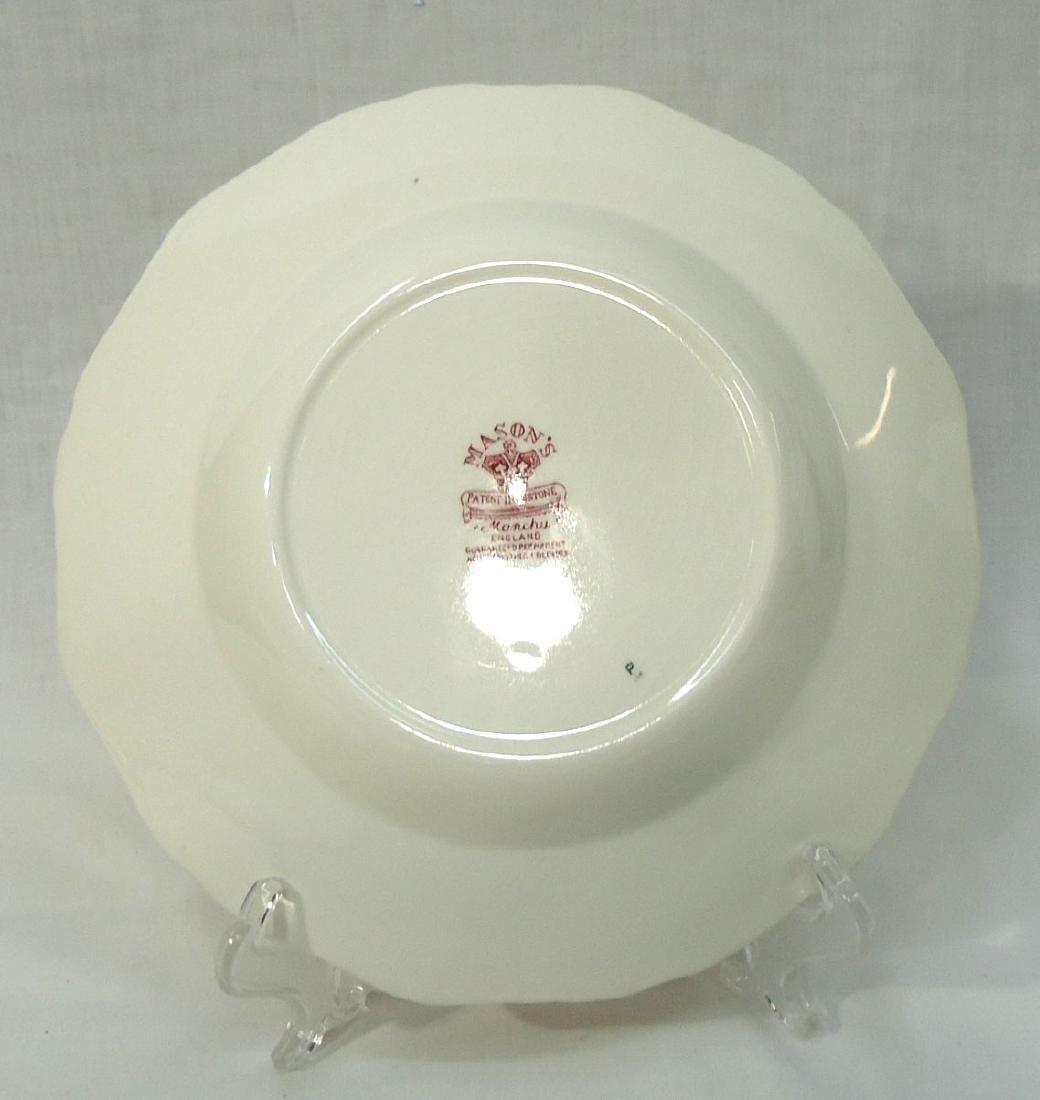 """12 Mason's """"Manchu"""" Dishes - 5"""