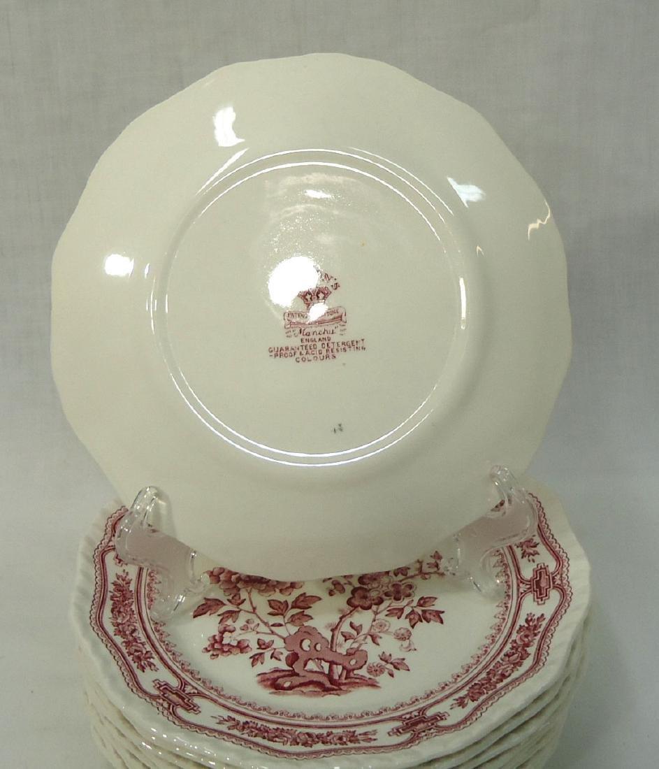 """12 Mason's """"Manchu"""" Dishes - 8"""