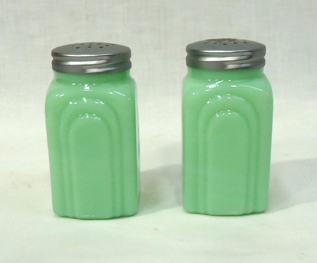 Jadeite Salt & Pepper - 2