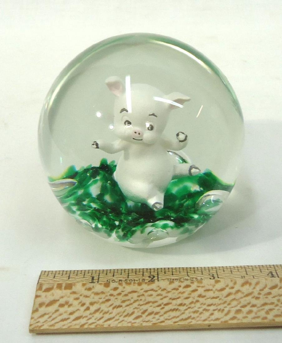 Sulfide Pig Paperweight