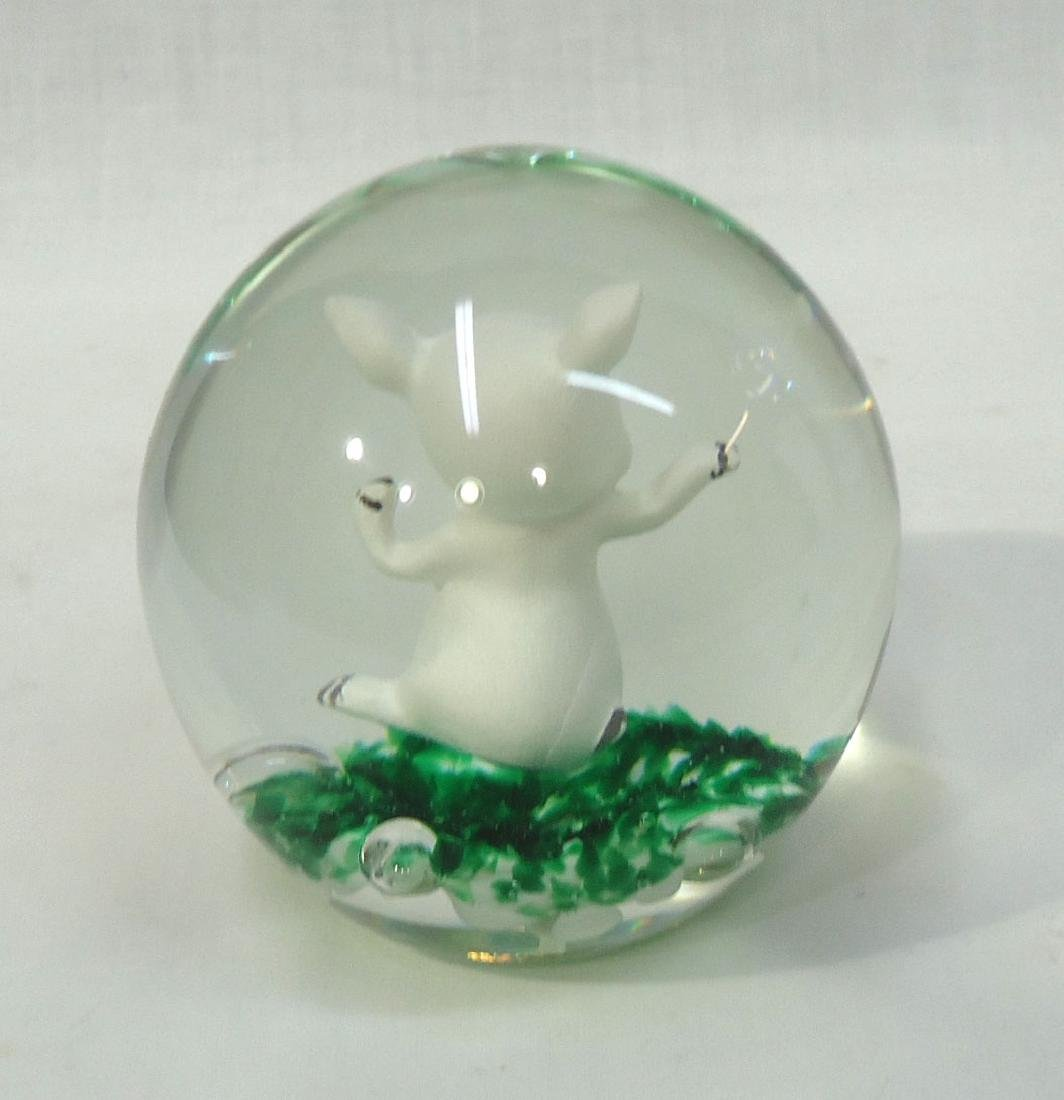 Sulfide Pig Paperweight - 3