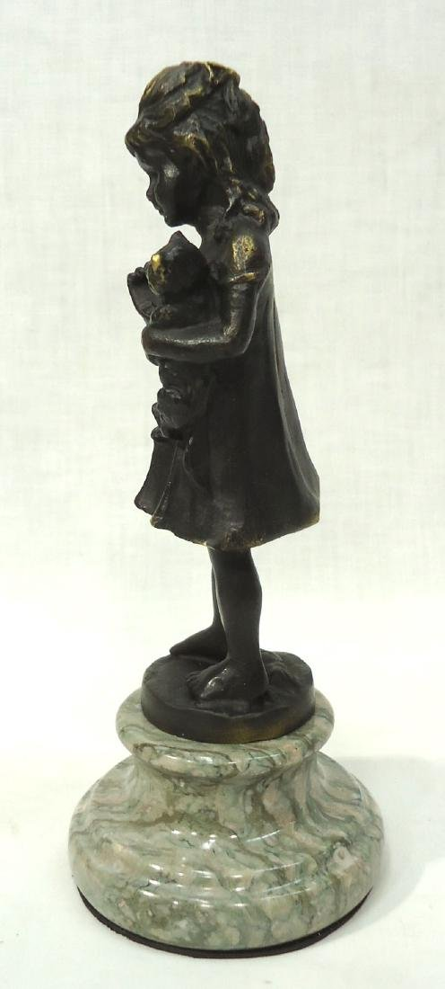 Bronze Statue of Young Girl - 3