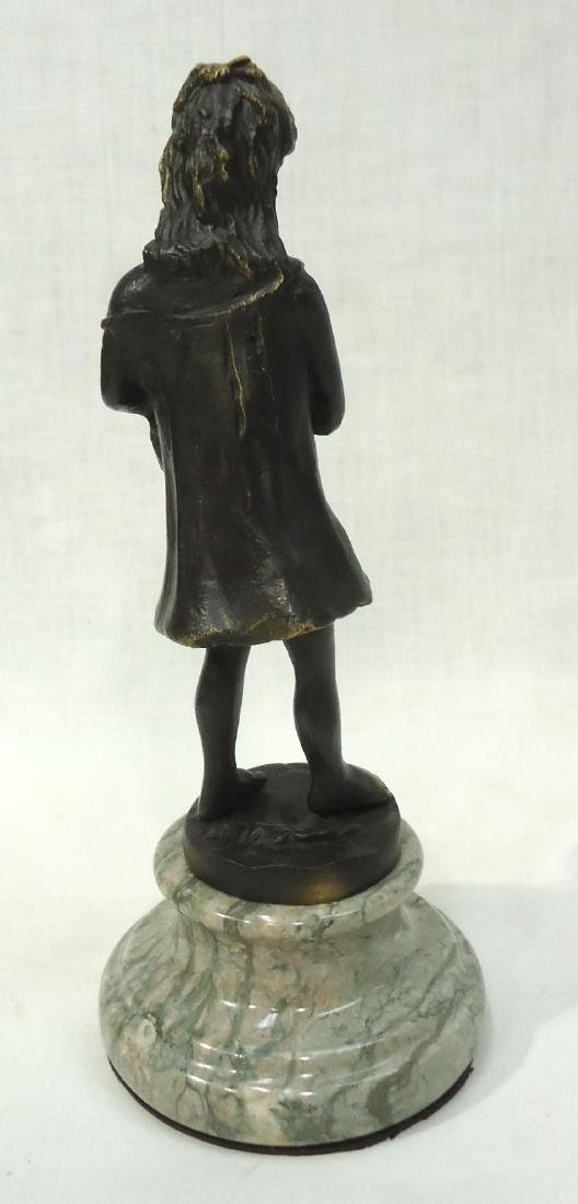 Bronze Statue of Young Girl - 4