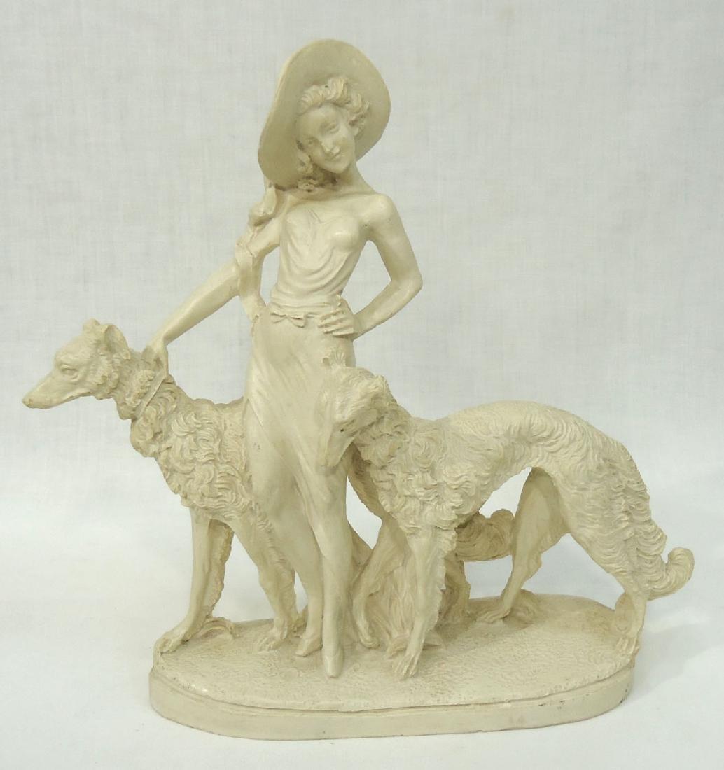 Art Deco Style Statue