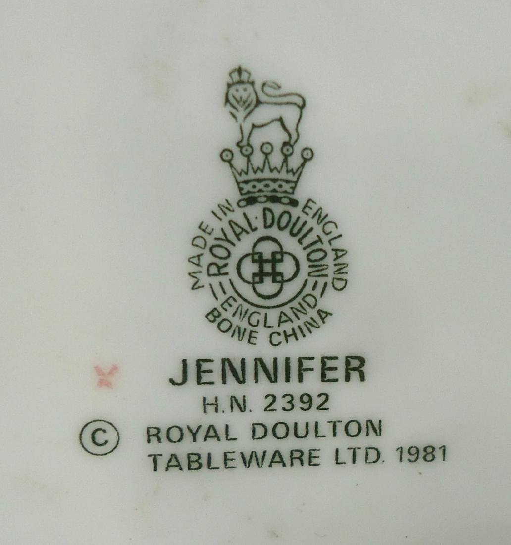 "Royal Doulton Figure ""Jennifer"" - 6"