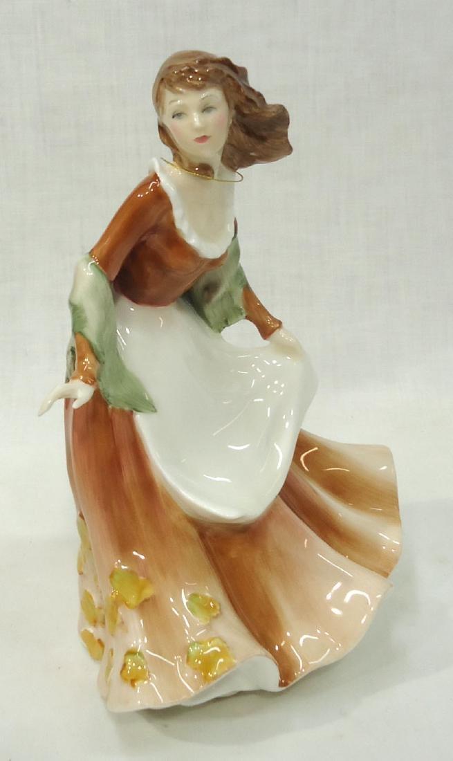 "Royal Doulton Figure ""Autumntime"""