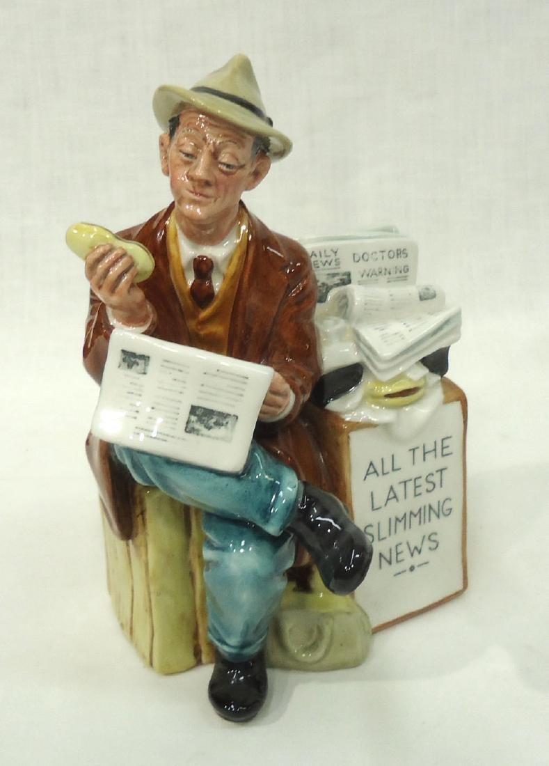 """Royal Doulton Figure """"Stop Press"""""""