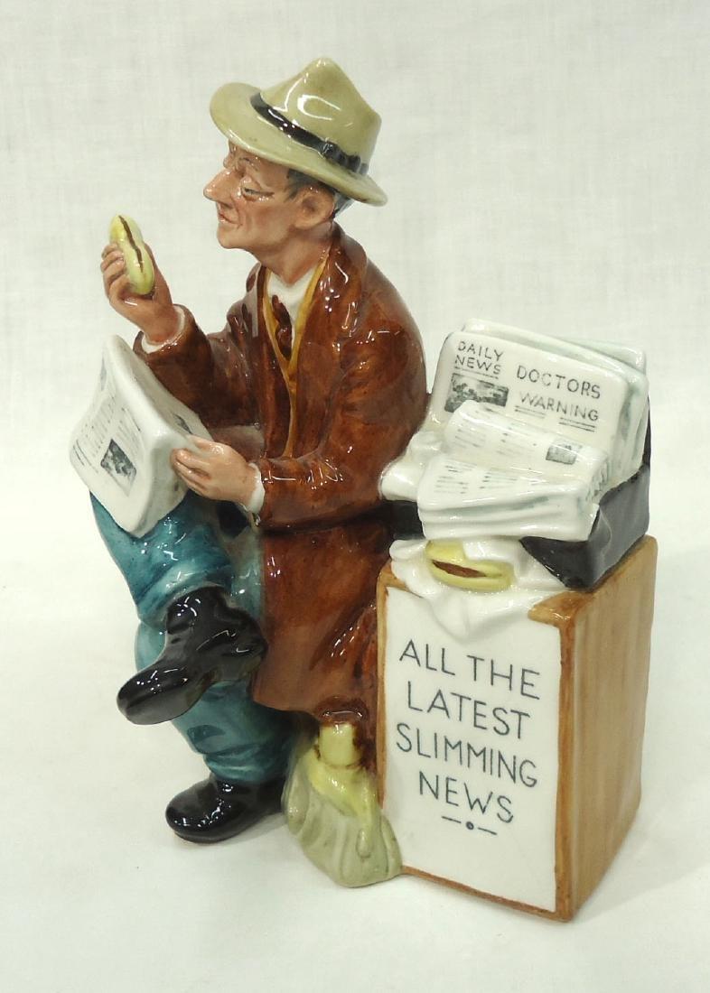 """Royal Doulton Figure """"Stop Press"""" - 2"""