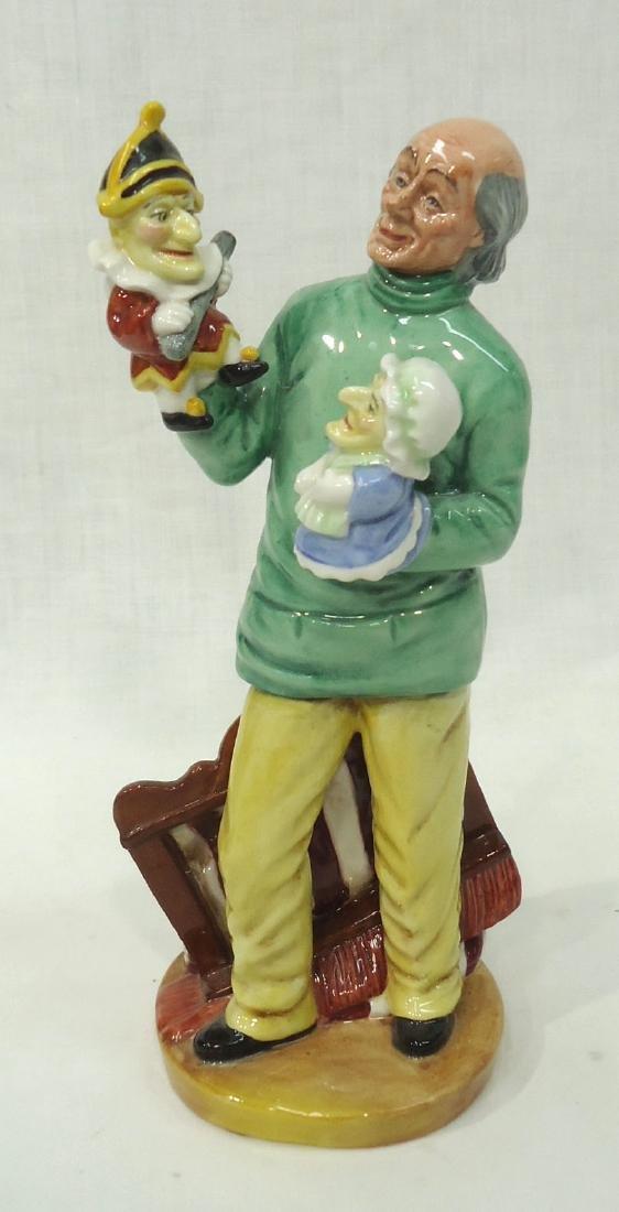 "Royal Doulton Figure ""Punch & Judy Man"""