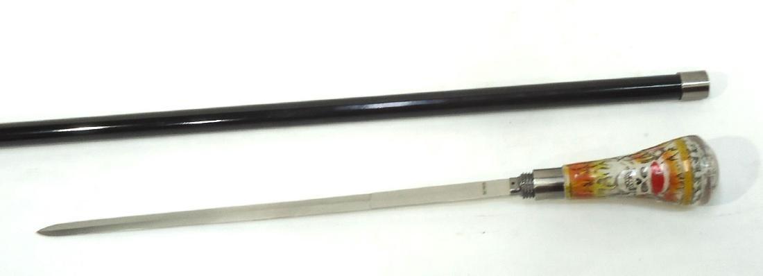 Modern Skull Sword Cane