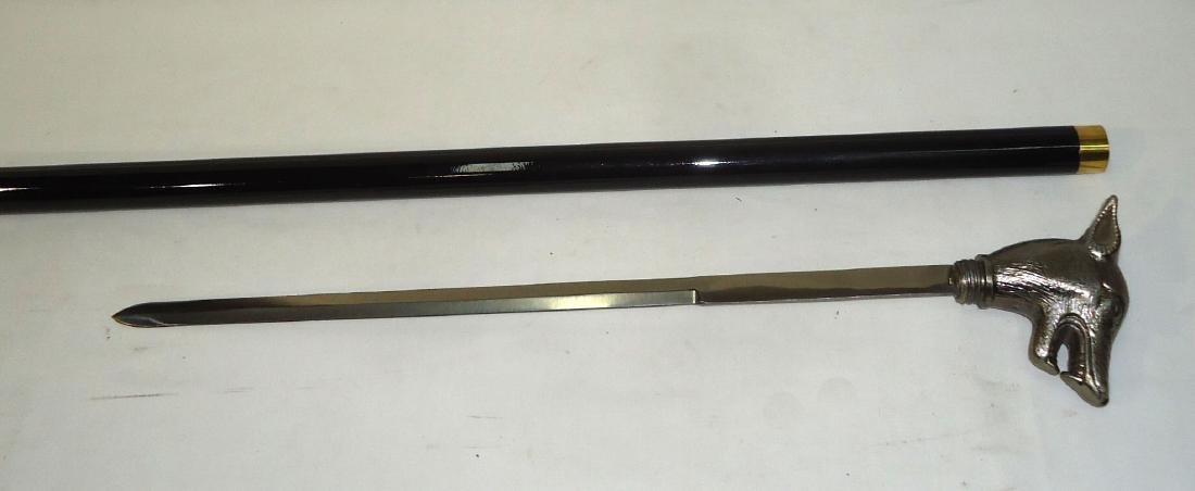Modern Wolf Sword Cane