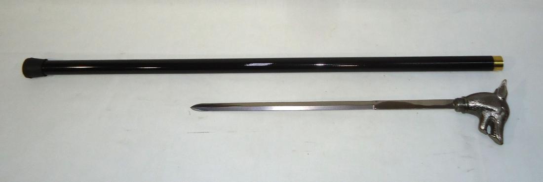 Modern Wolf Sword Cane - 2
