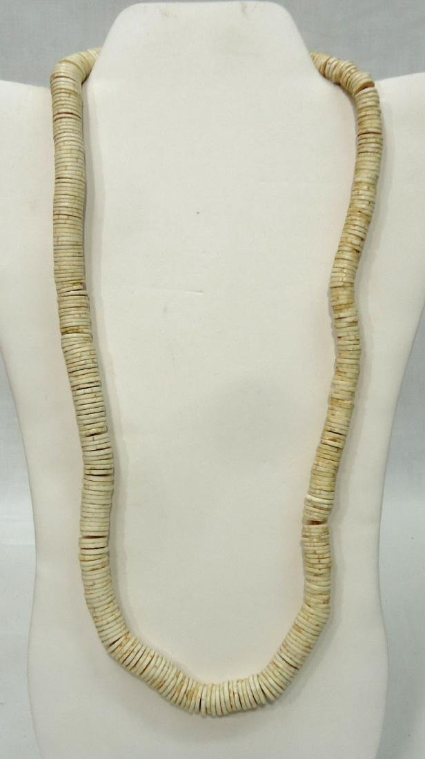 3 African Bead Necklaces - 3