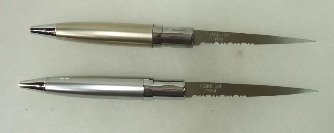 "(2) 5 1/2"" Pen Knives - 2"