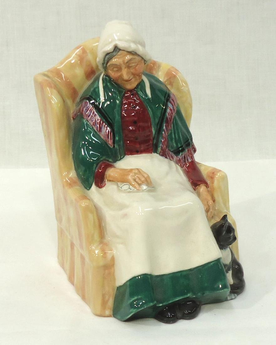 """Royal Doulton Figure """"Forty Winks"""""""