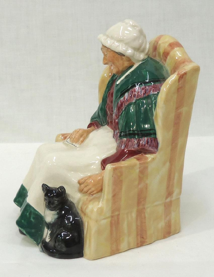 """Royal Doulton Figure """"Forty Winks"""" - 2"""